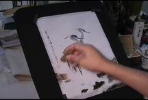 Sumi E / Japanse tekenmethode
