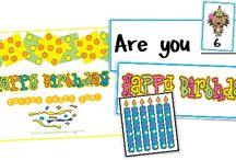 Birthdays @ School