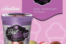 Nuestros Helados / Tenemos una variedad de helados en diferentes sabores con 0% de Lactosa y sin gluten.
