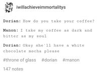 Manorian / Manon and Dorian and nothing more