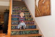 stairs. / by Samantha Schramm