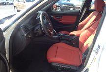 Car interiors / Bmw coral red interiors