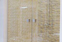 Pare douche en verre - Glass Shower Screen / Présentation de différents Parois de douche en verre, fabriquées par la miroiterie Righetti www.miroiterie.fr pour consulter l'ensemble de nos produits.   Some pictures of our Glass Shower Screen made to measure. To see more visit our website www.mylaminatedglass.com