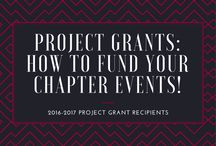 Chapter Project Grants