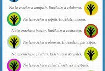 Buenos propósitos / Infografías sobre educación, partiendo de la base que es importante emocionar para generar aprendizaje
