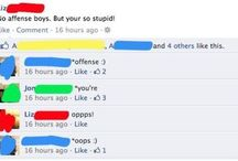 Facebook fails / If you feel like having an instant chuckle, read these