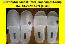 Suplier Sandal Hotel Piranhamas Group +62- 81.2529.7389 (T-sel) / Suplier Sandal Hotel Jakarta,Suplier Sandal Hotel di Bali  Kami adalah Supplier amenities hotel di Indonesia yang mendistribusikan dan mensupplai semua keperluan Amenities hotel PESAN SEKARANG JUGA, Hubungi Customer Service Representatif kami : (Call / SMS / WhatsApp) :  +62-81.2529.7389 (Simpati) Alamat : JL. Piranha Atas V / 01, Tunjung Sekar, Malang Telp Kantor : 0341 - 547.5454 Email : Silvi_eko@yahoo.co.id Website : www.piranhamasgroup.com Upload By : L.A. Mahendra