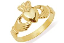 Ladies Gold Claddagh Rings / All Claddagh rings manufactured by Claddagh Jewellers are hallmarked and stamped on the interior with the phrase 'Made in Galway' and our Makers Mark, L.F. for Love & Friendship, Loyalty & Fidelity.  Claddagh Jewellers Home of the Authentic Claddagh Ring - From Galway with Love!