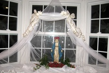 Catholic ~ To Honor ❀⊱Our Lady⊰❀ / Lost of ideas to honor Our Blessed Mother!!