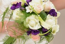 Bouquet. Mariée
