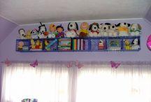 child's room storage