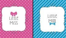 Little Man or Little Miss? Gender Reveal Party Ideas / Will it be a Little Man or Little Miss? Find out at your own Gender Reveal Party! We have picked out our favorite Little Man or Little Miss party supplies and added some great ideas from other Pinterest members too! Throw the best Gender Reveal Party ever!