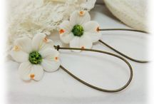 Dogwood Jewelry / Handcrafted driftwood jewelry and hair pins. Created with clay.