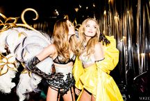 Models Backstage at Fashion Shows