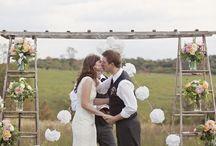 Esküvő pajtában