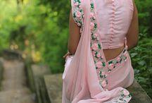Saree and blouse