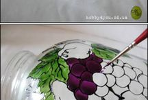 tekenen op glas