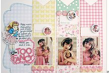 CTMH - Lollydoodle / Some ideas here feature the paper pack named above.  Other ideas could be beautifully replicated with this paper pack, coordinating embellishments, complements, and/or stamp sets.