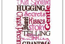 Grammy's ❤️ / All things related to my greatest joy in life - being a grandmother! In my case...Grammy ☺️...