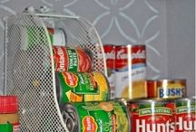 Reorg the pantry ideas / by Ashleigh Barlow