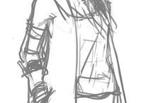 Sketching human