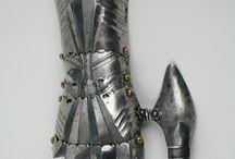 15. század páncélkesztyűk