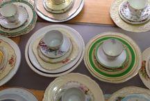 Mixed china dinner sets