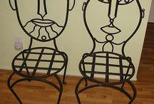 Wrought iron art