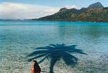 French Polinesia. / Travel to French Polinesia.