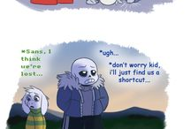 COMICS / Some comic about UNDERTALE