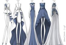 Sketsa model pakaian