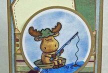 Riley Moose Stamps