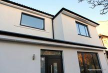 Cheltenham Centre 2014 / Aluminium Textured Black casements and Tilt & Turn windows