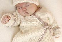 Stricken für das Baby