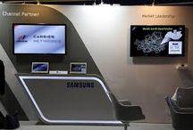 Выставочный стенд под телевизор