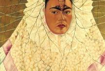 Magdalena Carmen Frida Kahlo y Calderón / by Hiroko Ohtsu
