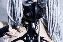 Steampunk Goth Fashion / Steampunk fashion fusion with a darker gothier side