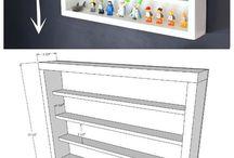 Lego shelves