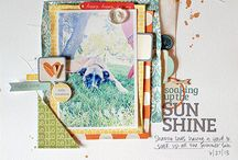 Scrapbook Layouts - Lily Bee Designs