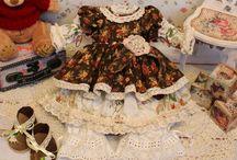 Одежда для моих куколок (винтаж, шебби, бохо)