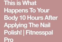 nail polish is no good