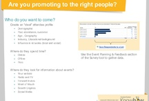 Event Promotion Hints & Tips / One off hints to help you with your next event / by Constant Contact Event Marketing