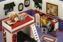 barbie/dollhouse furniture etc