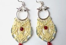 Macrame earrings/ orecchini