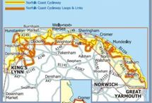 Cycling in Norfolk / There are many excellent cycle routes in Norfolk and it's not as flat as you might think......here are just a few suggestions and for lots more ideas and to download maps and routes visit www.thebroadsbybike.org.uk