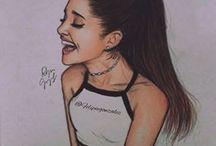 Ariana Grande art❤