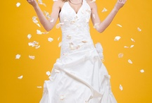 Bridal Fantasy Shoot - Yellow backdrop