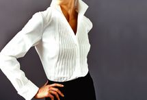 The right white blouse for you <3