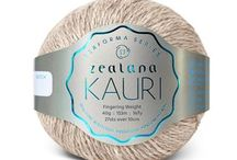 Zealana KAURI Fingering / Zealana KAURI is 60% fine New Zealand merino, 10% mulberry silk, and 30% brushtail possum. It's the perfect choice for garments that need to go the extra mile and back again...with lots of washings in between!