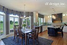 Dining Rooms by DF Design, Inc. / Dining rooms designed by Dennis Frankowski, Interior Designer for DF Design, Inc.